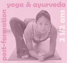 Post-formation Yoga & Ayurveda - 14 janvier 2020