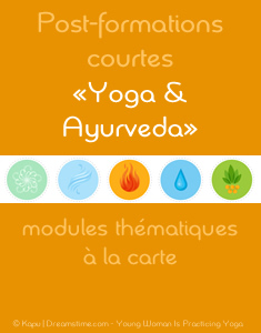 Post-formation yoga adapté aux pathologies courantes selon l'Ayurveda - école de yoga Yogamrita
