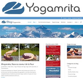 Yogamrita, blog du yoga