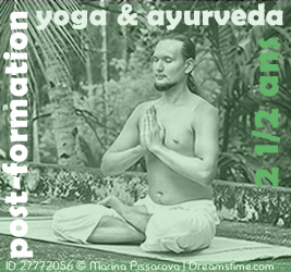 Post-formation « Yoga & Ayurveda » (sur 2 1/2 ans)